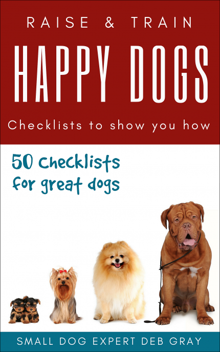50 checklists to raise and train happy dogs